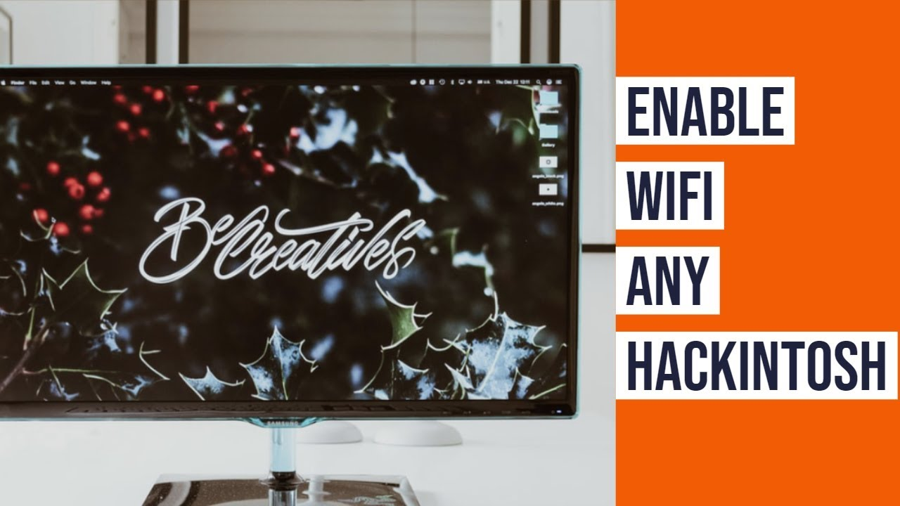 Enable WiFi in any Hackintosh PC