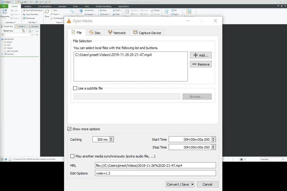 VLC Player   Convert