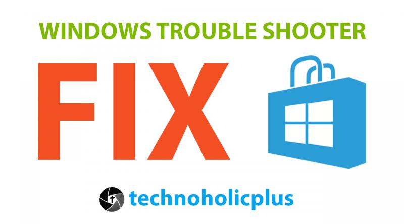 Windows store fix