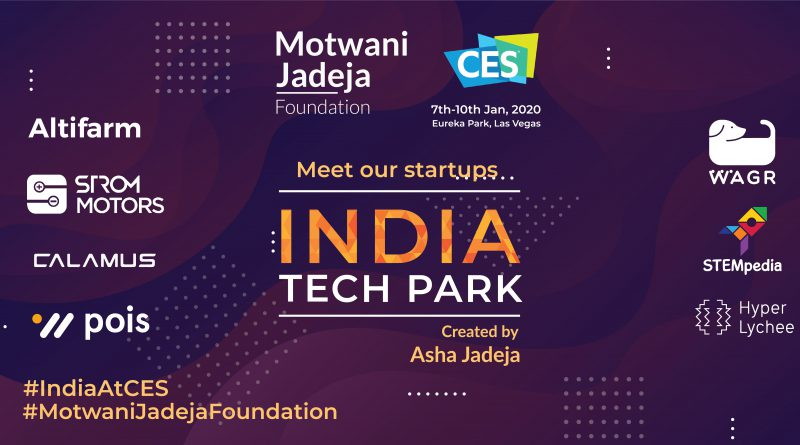 india Teck Park for indian startup at CES 2020
