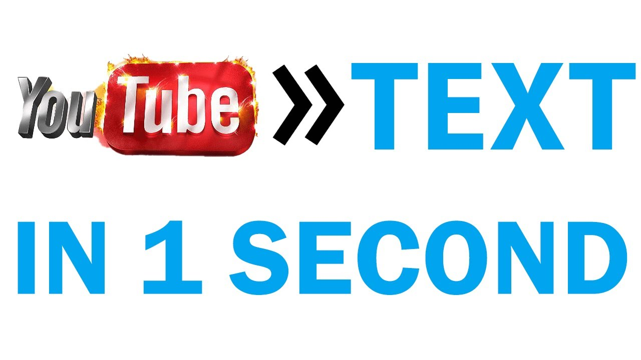 Youtube video to text Convertor | YouTube to Text convertor 2020